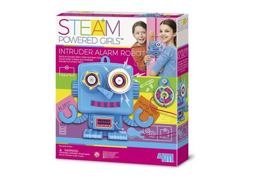 4M 4M Steam: Powered Girls Indringersalarm Robot