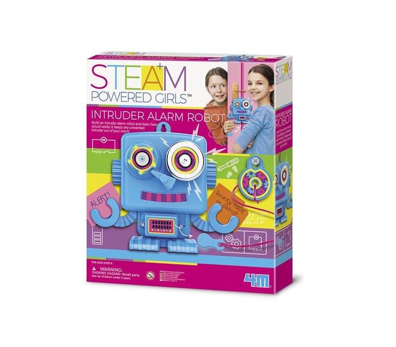 4M Steam: Powered Girls Intruder Alarm Robot