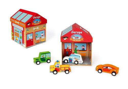 Scratch Scratch Preschool Play Box Garage Play & Store