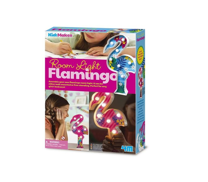 4M KidzMaker: Kamerlamp Flamingo