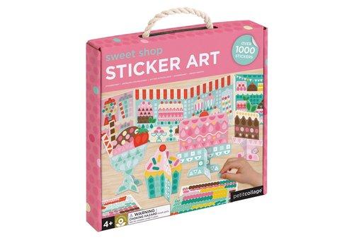 Petit Collage Petit Collage Sticker Art Sweet Shop