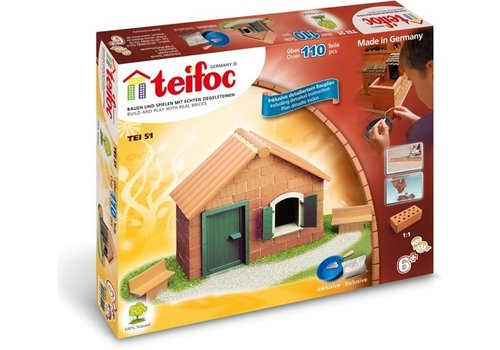Teifoc Teifoc Construction Box Starter Set