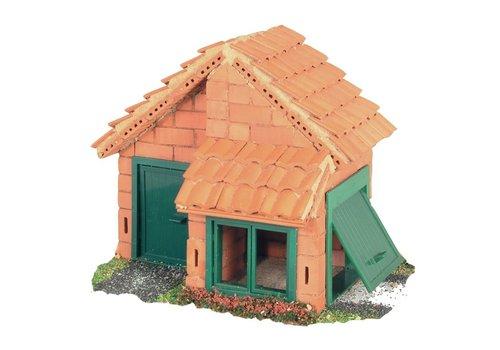 Teifoc Teifoc Construction Box House with Tiles