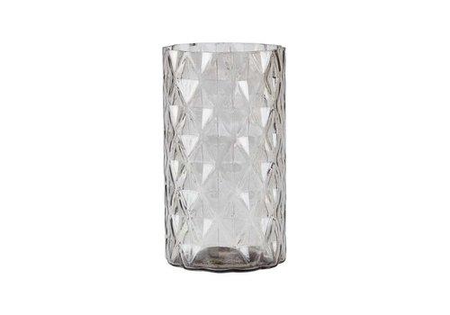 KJ Collection Vase Glass Nude d9 h16