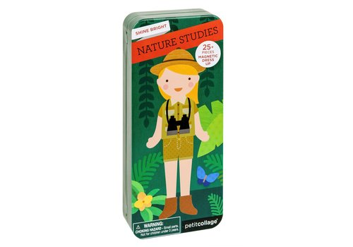 Petit Collage Petit Collage Magnetic Dress Up Natuur
