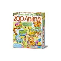 4M Crea Mould  & Paint Zoo Animal