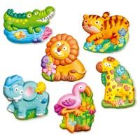 4M Magneten in Gips Maken en Beschilderen Zoo Dieren
