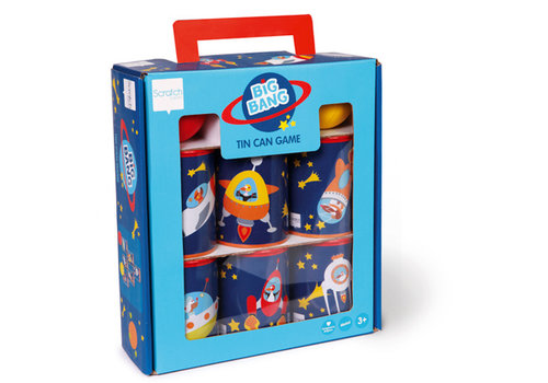 Scratch Scratch Tin can Game Big Bang