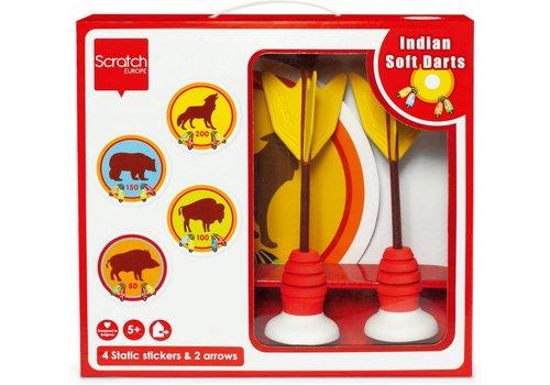 Scratch Scratch Soft Darts Indianenspel