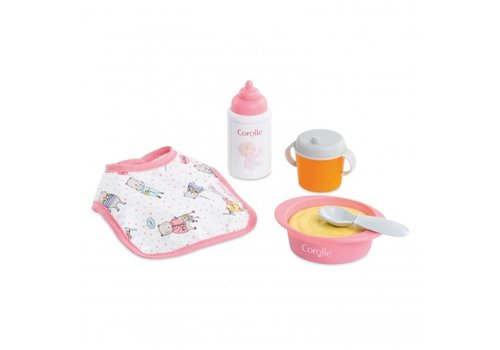"""Corolle Corolle Mealtime Set for 12"""" Baby Doll"""
