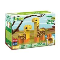Biobuddi Wildlife Steppe Blokkenset 14 st