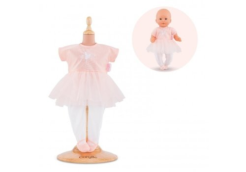 Corolle Corolle Pink Ballerina Suit for 12-inch Baby Doll