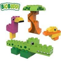 Biobuddi Wildlife Lagune Blouwblokken Set 25 st