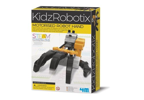 4M 4M KidzRobotix Gemotoriseerde Robothand
