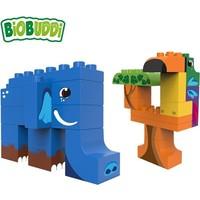 Biobuddi Wildlife Jungle Bouwblokken Set 27 st