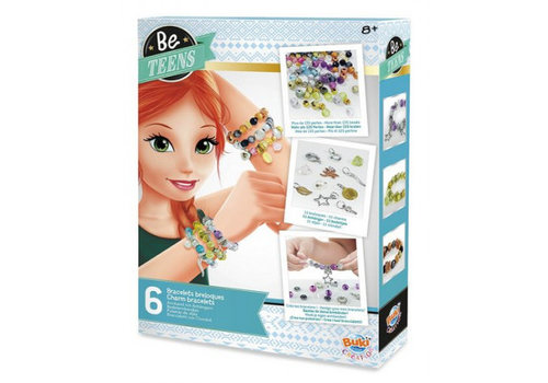 BUKI Buki Be Teens Make Your Own Bracelets with Beads & Charms