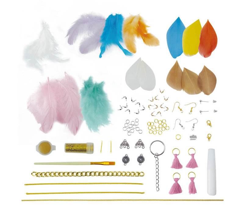 Buki Be Teens Feather Jewelry
