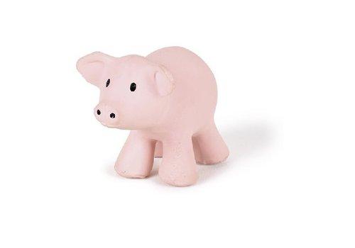 Tikiri Tikiri My First Farm Animals  Bath  and Teething Toy with Rattle Pig