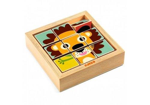 Djeco Djeco Rotating Puzzle Tournanimo