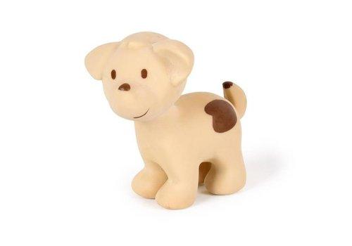 Tikiri Tikiri Mijn Eerste Boerderijdiertje  Bijt- en Badspeelgoed met Rammelaar Puppy