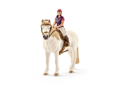 Schleich Schleich Amateur Ruiter met Paard