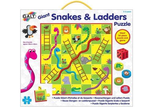 Galt Galt Reuze Slangen- en Ladderspuzzel