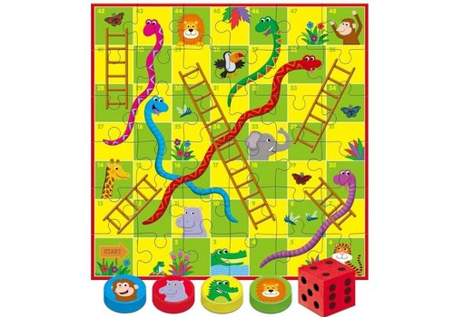 Galt Galt Giant Snakes & Ladders Puzzle