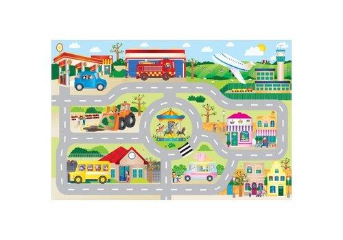 Galt Galt Giant Floor Puzzle Town