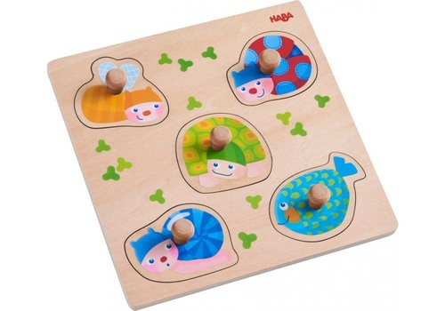 Haba Haba Clutching Puzzle Colourful Animals