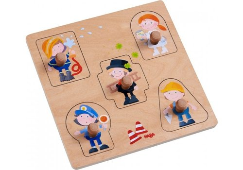 Haba Haba Clutching Puzzle Professions