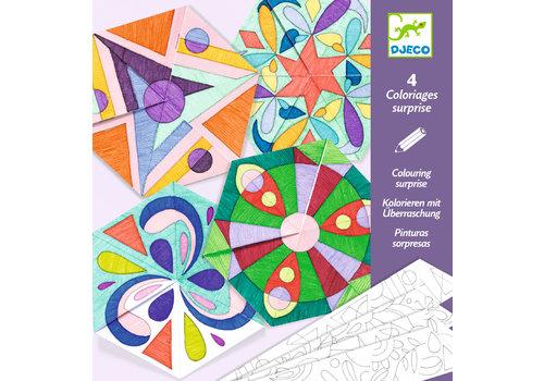Djeco Djeco Colouring Suprise Rosette Mandalas