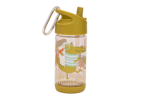 Sugarbooger Sugarbooger Flip & Sip Drinking Bottle Gator