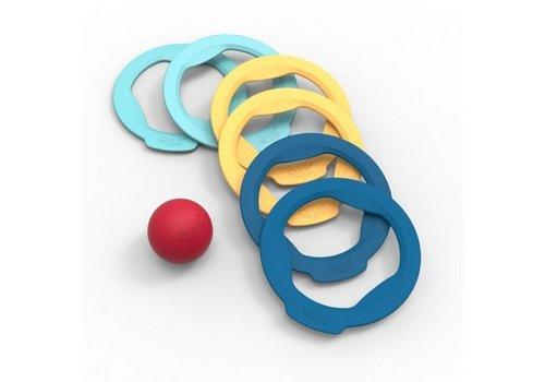 Quut Quut Ringo Petanque Spel 6 Ringen + 1 Bal