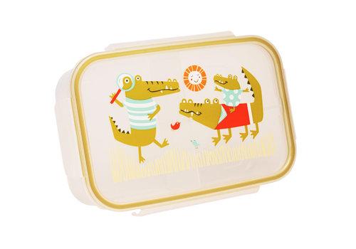 Sugarbooger Sugarbooger Good Lunch Bento Box Krokodil