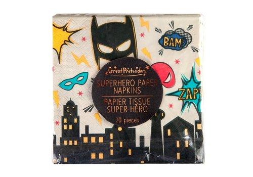 Great Pretenders! Great Pretenders Paper Napkins Superhero