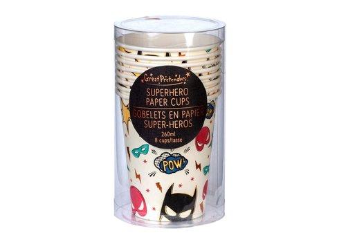 Great Pretenders! Great Pretenders Paper Cups Superhero