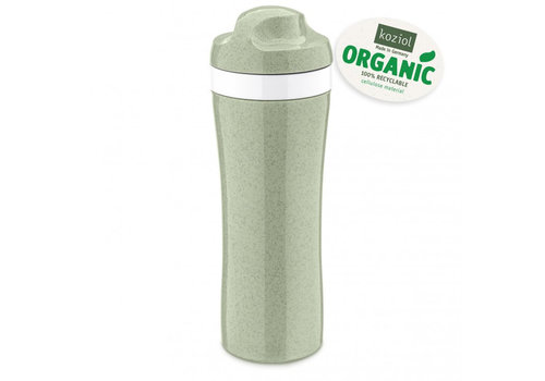 Koziol Koziol Drinking Bottle Oase Eucalyptus Green 425 ml