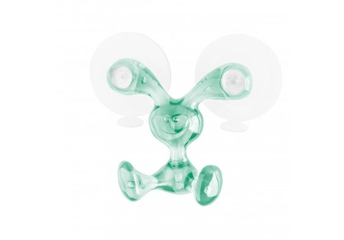 Koziol Koziol Wall Hook Bunny Transparent Jade