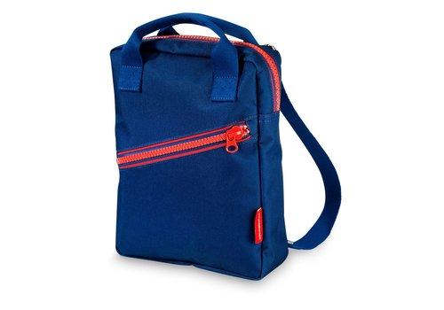 Engel Engel Backpack Zipper Dark Blue Small