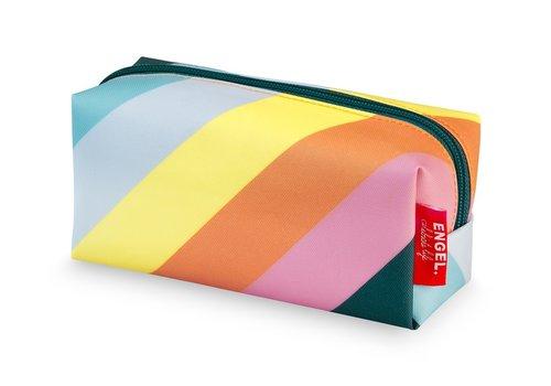 Engel Engel Pencil Bag Stripe Rainbow