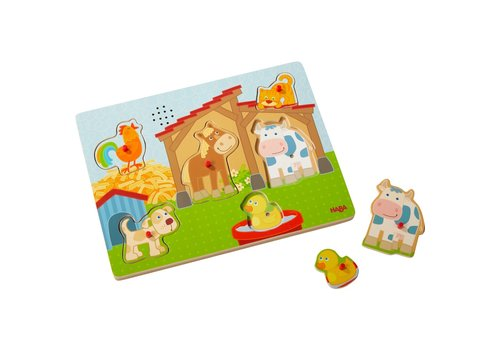 Haba Haba Clutching Sound Puzzle On the Farm