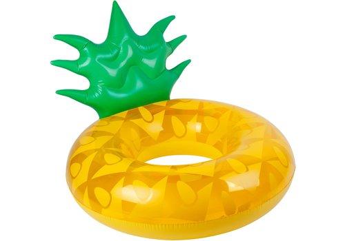 Sunnylife Sunnylife  Opblaasbare Zwembandring Ananas