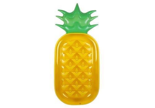 Sunnylife Sunnylife  Opblaasbare Zwembad Luchtmatras Ananas