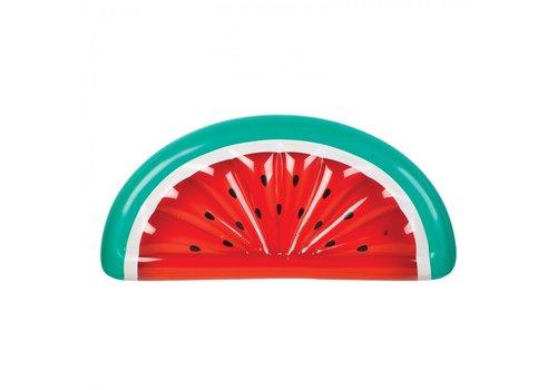 Sunnylife Sunnylife  Opblaasbare Zwembad Luchtmatras Watermeloen