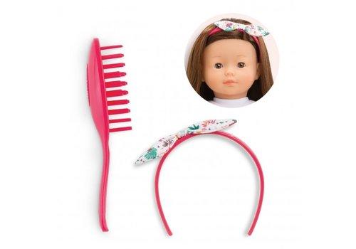 Corolle Corolle Hair Brush Set TropiCorolle Dolls 36 cm