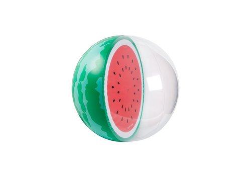 Sunnylife Sunnylife Opblaasbare Strandbal XL Watermeloen