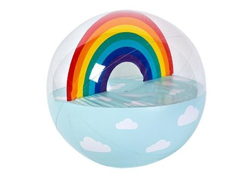 Sunnylife Sunnylife Inflatable Beach ball XL Rainbow