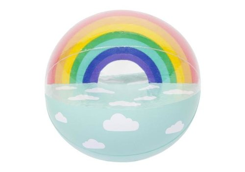 Sunnylife Sunnylife Luxe Inflatable Beach Ball Rainbow