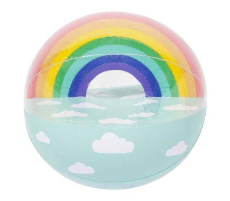 Luxe Eetkamer Set.Sunnylife Luxe Inflatable Beach Ball Rainbow Fanthome Com