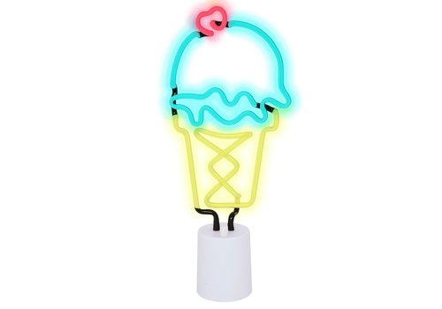 Sunnylife Sunnylife Neon Light Ice Cream